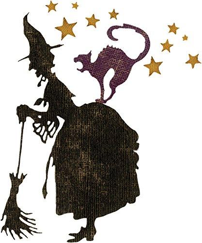 Sizzix Thinlits By Tim Holtz Alterations - Witchcraft - 3 Piece Die Set (662386)]()