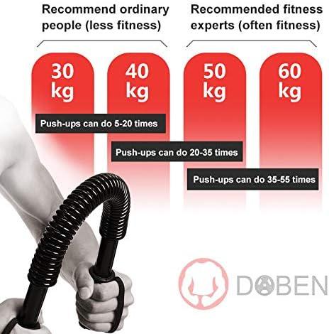 Fitness pump per potenziamento muscolare braccia doben professionale MR01HW115-20kg