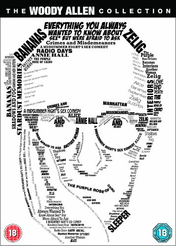The Woody Allen Collection - 20-DVD Box Set ( Alice / Annie Hall / Another Woman / Bananas / Broadway Danny Rose / Crimes and Misdemeanors / Ever [ NON-USA FORMAT, PAL, Reg.2 Import - United Kingdom ]