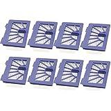 8 pack Filter for Neato 945-0048 XV-21 XV Signature XV Signature Pro XV-11 XV-12 945-0048 XV-15 Vacuum Cleaner Robotic Pet and Allergy by LifeSupplyUSA