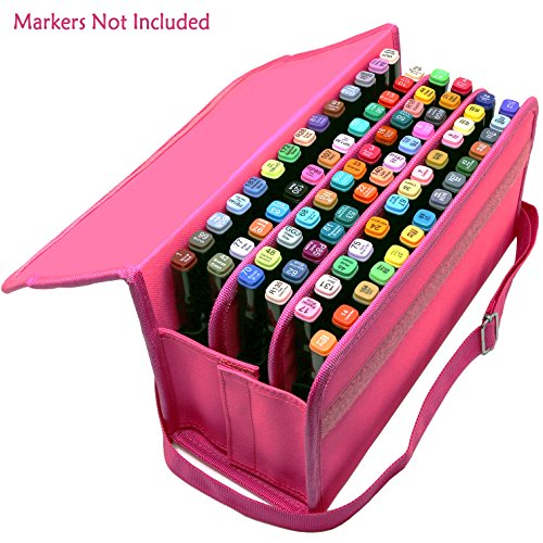 80 Holders Marker Pen Case
