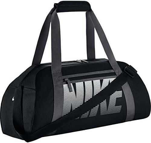 f1af90b848e5 Nike Gym Club Women s Training Duffel Bag (Black  Dark Grey  White)   Amazon.in  Bags