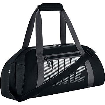 4e04b692d Nike Women's Gym Club Bolsa de Deporte, Mujer, Negro (Black/Dark Grey