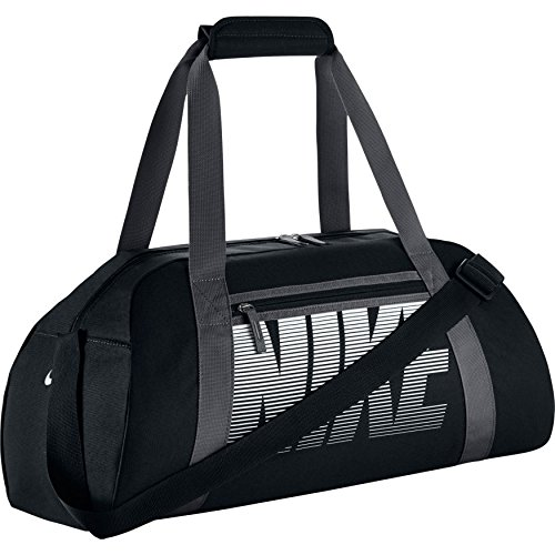 aefb453ac Nike Gym Club Bolsa de Deporte, Mujer, Negro (Black/ Dark Grey/ White),.