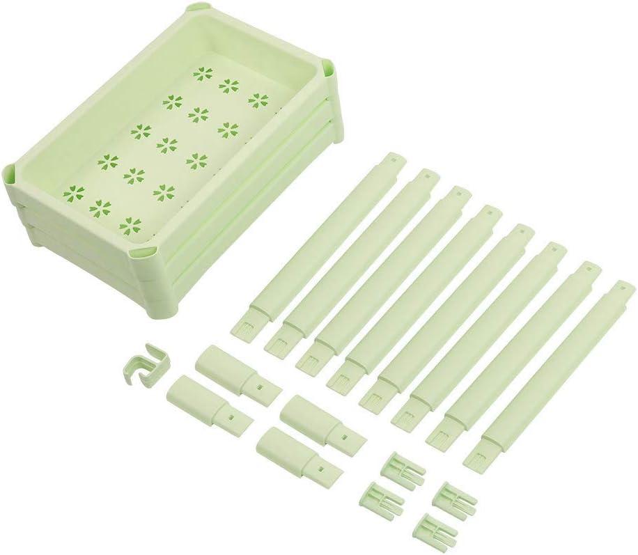 Blanc Zer one1 Support de Rangement en Plastique pour /étages de Salle de Bains Support de Rangement pour /étag/ères de Salle de Bains Multicouche