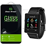 [2-Pack] Garmin Vivoactive Screen Protector, Dmax Armor® [Tempered Glass] 0.3mm 9H Hardness, Anti-Scratch, Anti-Fingerprint, Bubble Free, Ultra-clear - [ Lifetime Warranty]