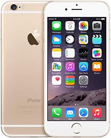 Apple iPhone 6 Gold 128GB Unlocked Smartphone (Certified Refurbished)