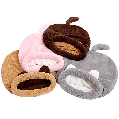 "51y3Rn62LQL - PAWZ Road Cat Sleeping Bag Self-Warming Kitty Sack 20"" 22"""