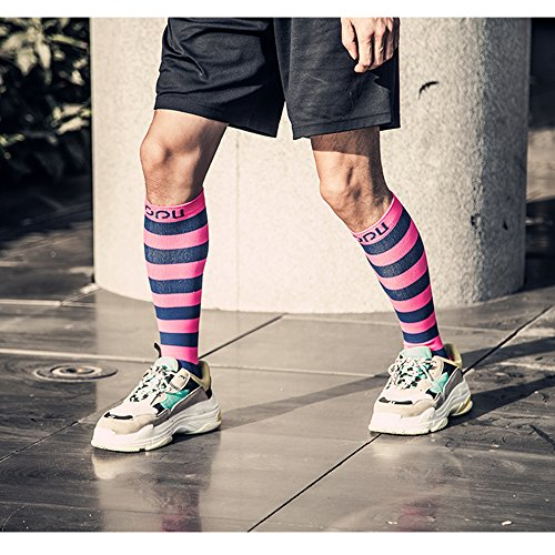 Compression Socks Team Soccer Socks For Women,Men,Golf, Running, Hiking