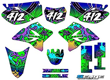 Compatible with Yamaha 2005-2019 TTR 230 Space Kadet Complete Graphics Kit