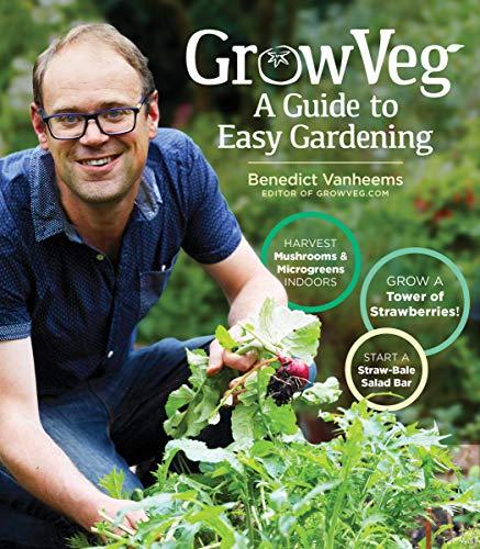 Book Cover: GrowVeg: The Beginner's Guide to Easy Vegetable Gardening