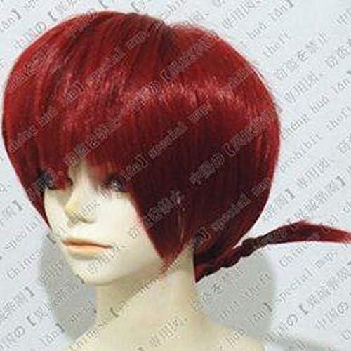[ウェブエッセンス] コスプレウィッグ  らんま1/2  ★らんま 風 高品質wig コスプレ ウィッグ+ウィッグ専用ネット+