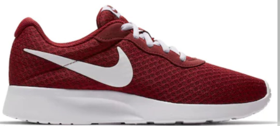 NIKE Women's Tanjun Running Shoes B07458NRST 5.5 B(M) US|Team Red White
