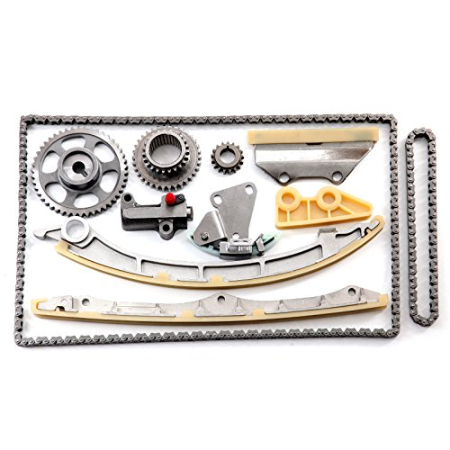ECCPP Timing Chain Kit for Honda Accord Crosstour Acura TSX ILX 2.4L DOHC K24Z ()