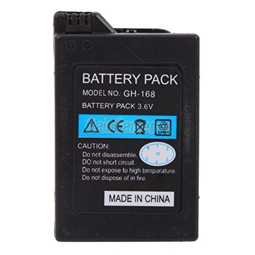 New 3.6V 1800mah Rechargeable Battery for Sony PSP-110 PSP-1001 PSP 1000 US