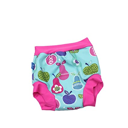 GudeHome Reutilización Bañador Pañal de Tela Reutilizable Lavable Diaper Para Bebé Pañales bañadores verde