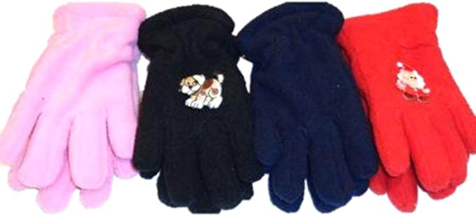 Four Pairs Sona Magic Gloves for Infant and Toddlers Ages 1-4 Years