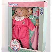 Rock-A-Bye Baby Deluxe Doll Fashion Pack - Light Pink by You&Me