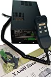 XA600 Dual Tone Siren 400W with 2 x 30 AMP Aux Relays for Police Fire EMS/EMT