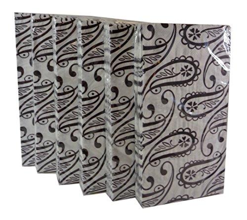 Paisley Paper Napkins - 5