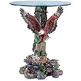 Smart Living Company 33699 Dramatic Eagle Table, Multi Color