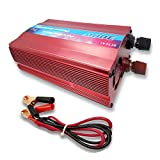 Inverter Converter Pure Sine Wave Power 300W for Solar Panel System DC 12V to AC 230V