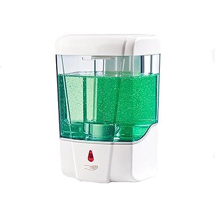 Dispensador de jabón eléctrico montado en la pared de la cocina ZQ automático infrarrojo casero del