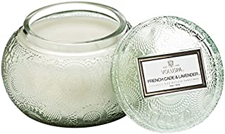 product image for Voluspa French Cade and Lavender Embossed Glass Chawan Bowl Candle, 14 Ounces