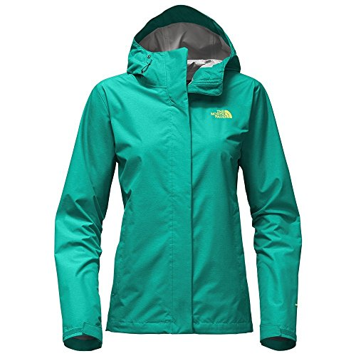 The North Face Venture 2 Women Outdoor Jacket Pool Green Heather