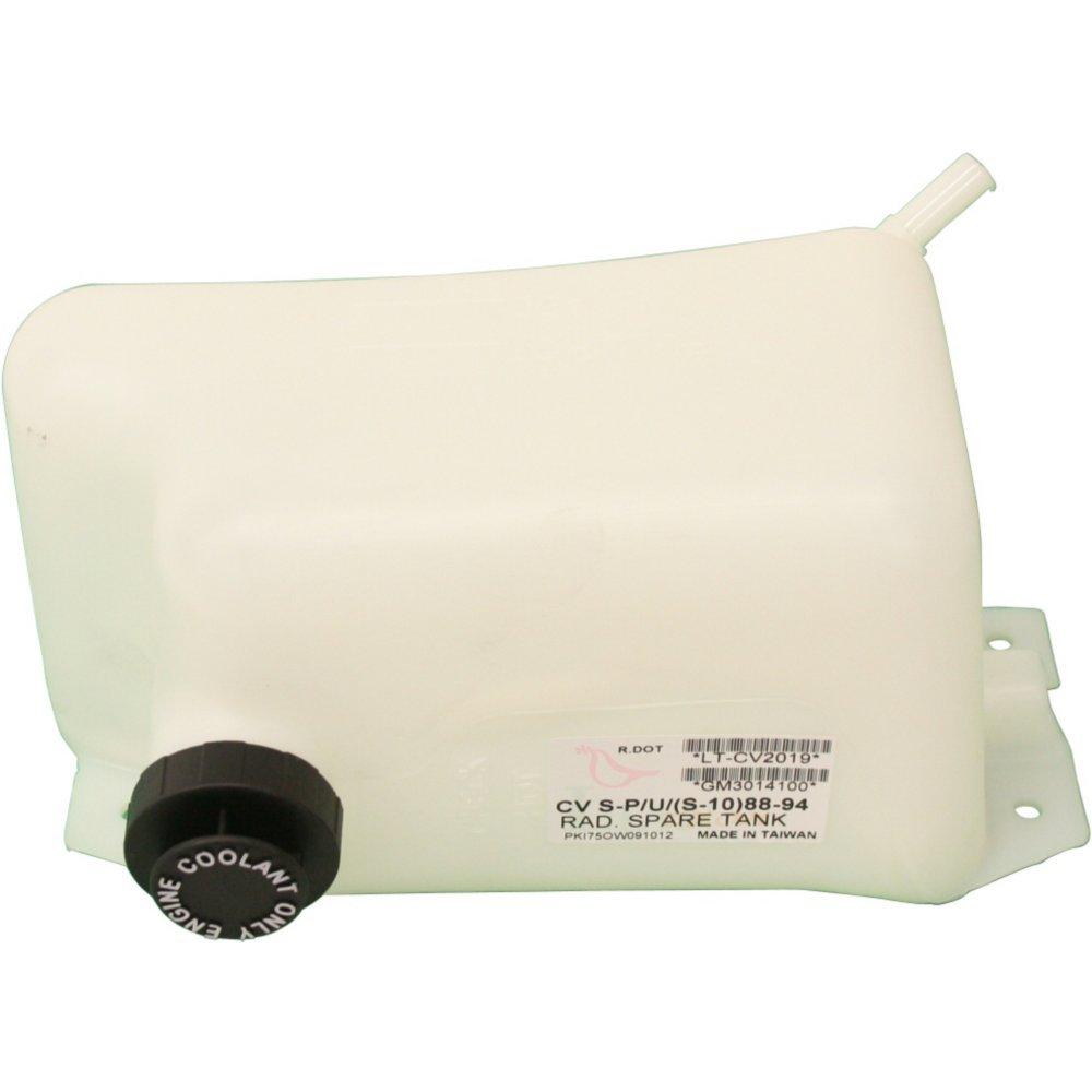 Evan-Fischer EVA11872035798 New Direct Fit Coolant Reservoir Expansion Tank for S10 Blazer 88-94 Plastic With cap
