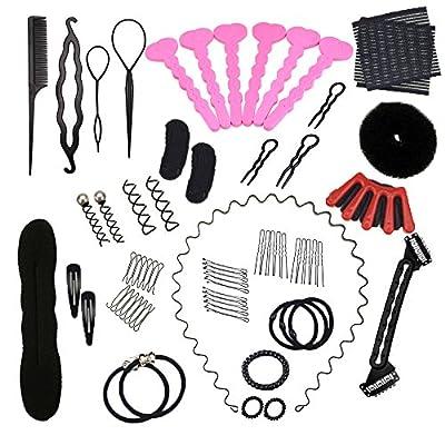 Mmrm Hair Styling Accessories Kit Set Hair Braid Tool for DIY (23pcs/set)