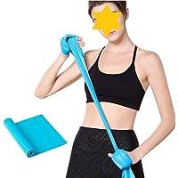 Weerstandsbanden, 2-pack oefenbanden Niet-latex, professionele elastische banden voor boven- en onderlichaam en…