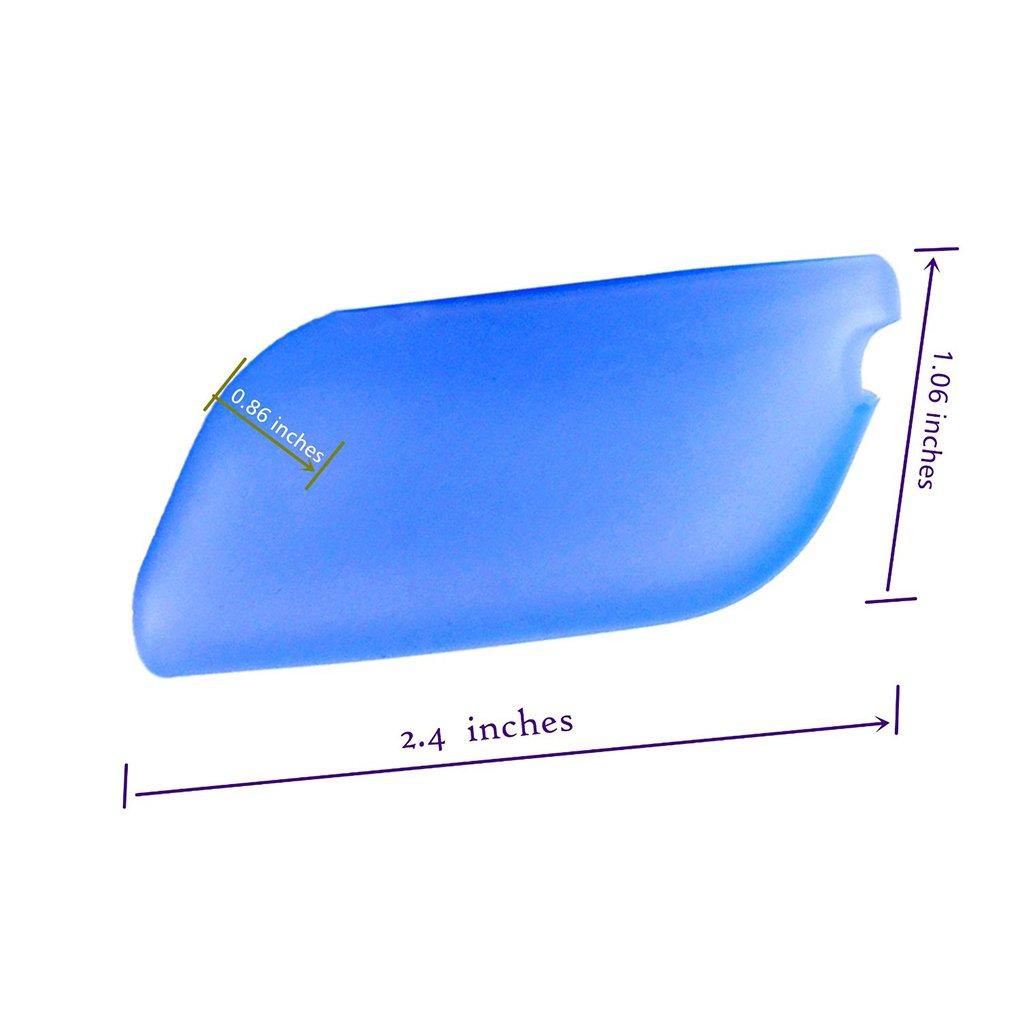 Flexible de silicona cepillo de dientes portátil de viaje fundas protectora evitar Molar Pack de 6: Amazon.es: Hogar
