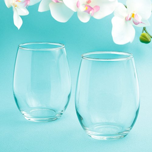 Perfectly Plain collection stemless wine glasses - 144 count by Fashioncraft