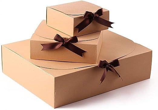 Caja de regalo Almacenamiento día de Navidad de empaquetado del ...