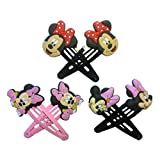Mickey Mouse and Friends Hair Clips 6 Pcs Set #1