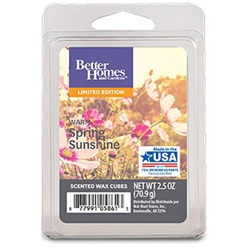 Better Homes and Gardens Warm Spring Sunshine Wax Cubes - 20