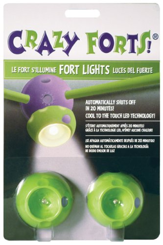 Green Crazy (Crazy Forts! Basic Fort Lights Accessory)