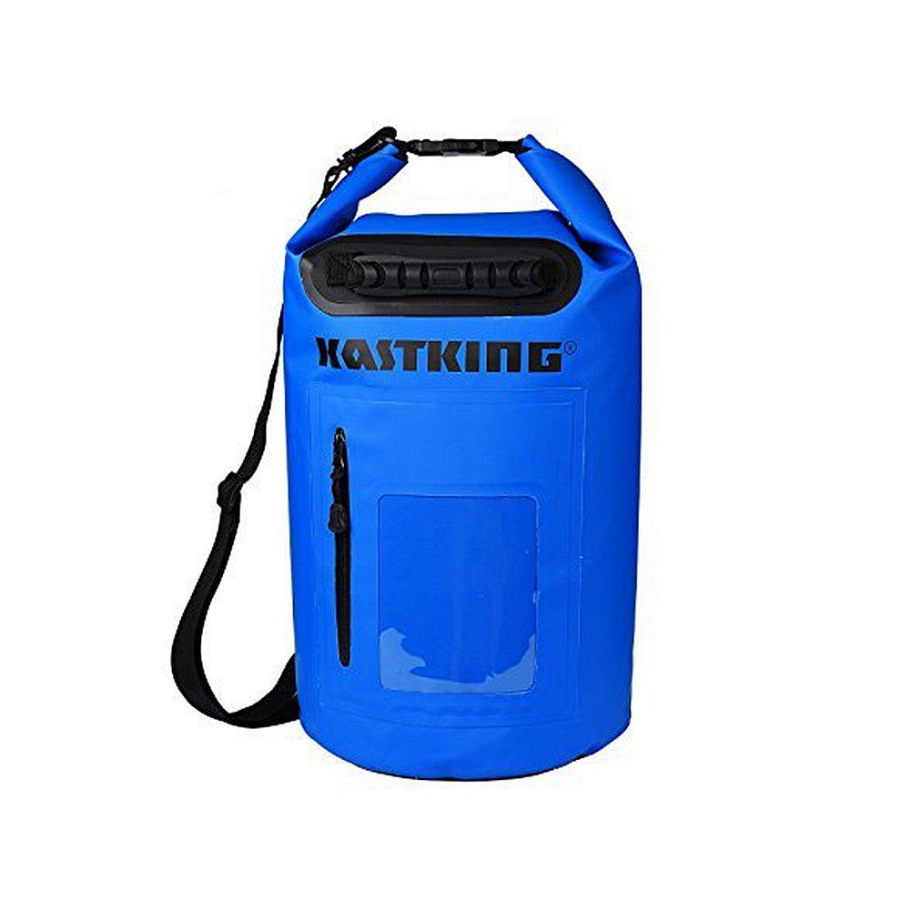 Dry Bag 30L - Waterproof Swim Bag Fishing Bags Beach Bag - Roll Top Sack Keeps Gear Dry for Kayaking and Boating or Fishing(Blue)