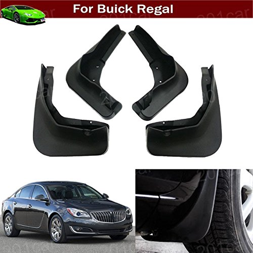bber Mud Flap Splash Guard Fender Mud Guard Mudguard Mudflap Fit for Buick Regal 2014 2015 2016 2017 2018 2019 ()