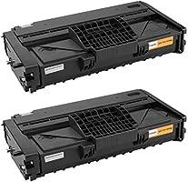 platinumserie 2 x Laser Cartucho de tóner XXL compatible con RICOH ...