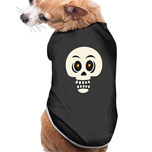 Centaur Dog Costume (NEW Pets Clothes HALLOWEEN Costumes Casual Skeleton Pattern Vest Sweaters For Dogs&Cats)