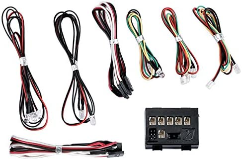 Black Redcat Racing Killerbody #48101 LED Light System with Control Box 10 LEDs