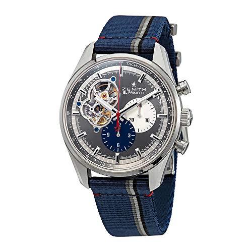 - Zenith El Primero Chronomaster Automatic Open-Heart Anthracite Dial Men's Watch 03.2040.4061/23.C802
