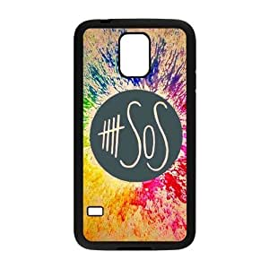 Danny Store 5SOS Protective TPU Rubber Back Fits Cover Case for Samsung Galaxy S5 by lolosakes
