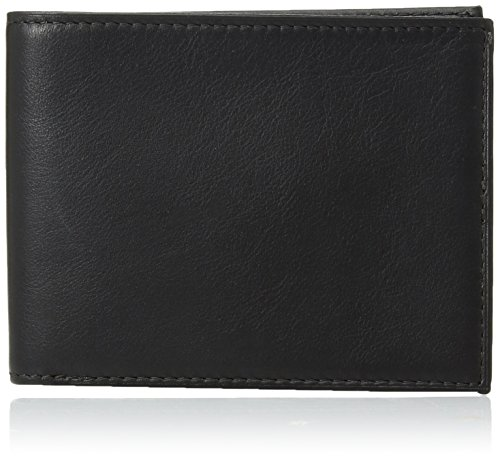 Bosca Men's Executive I.D. Wallet, Black, One Size (Fold Bi Bosca Wallet)