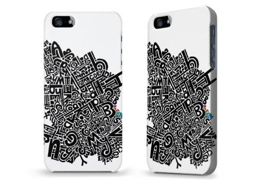 """Hülle / Case / Cover für iPhone 5 und 5s - """"ABC"""" von Kaitlyn Parker"""