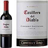Vino Tinto Casillero Del Diablo Cabernet Sauvignon 750 ml