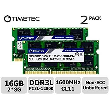 Timetec Hynix IC 16GB Kit (2x8GB) DDR3L 1866MHz PC3-14900