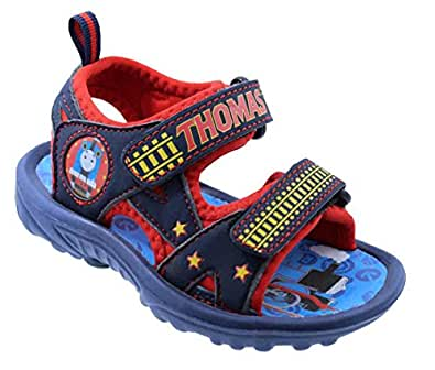 Toddler Boys Thomas and Friends 61135 Sport Sandals Blue Size: 5 Toddler